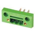 Through Panel Terminal Block Connector Header