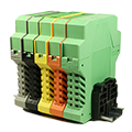 These Printed Circuit Board Electronic Component Housing DIN Rail Mount Enclosures easily mount onto a DIN rail. Order your enclosures at today ASI!