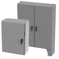 Nema 1 - Nema 3 - Nema 3R - Nema 4 -Nema 4X -Nema 12-Nema 13 Enclosures - Wall Mount - Floor Mount - Free Standing -Carbon Steel-Stainless Steel
