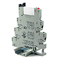 Buy your Terminal Block Relay for plc app at WWW.ASI-EZ.COM. DIN rail relays are Electromechanical, SSR with plug-in SPDT, DPDT, and DPST.