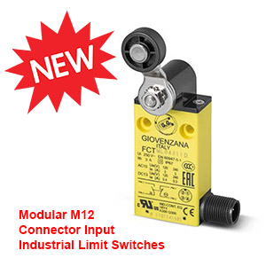 NEW Modular M12 Connector Input Industrial Limit Switch