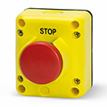 Our TLP Emergency Stop Button with Enclosure meets emergency push button requirements. Shop ASI-EZ.com, for your next estop configuration, 877-650-5160.