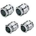 Cable Glands, Strain Reliefs, Cord Grips: Dust and Water resistant Industrial Cable Glands with PG and Metric Threads. Available in metal or plastic compression cable gland