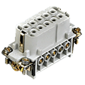 Compact Heavy Duty Connectors 3-32 positions. ASI HA Series. Buy direct and save 20 to 50% when you buy direct