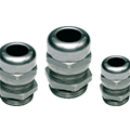 Stainless Steel strain relief, cord grips and cable glands at ASI-EZ.COM offer excellent corrosion resistance in all popular sizes, 303 and 316.
