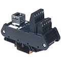RJ Connector DIN Rail Mount Interface Modules