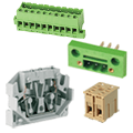 ASI panel mount terminal blocks are easy to install, modular and wiring is quick and reliable. If you need pluggable wiring try out panel mount connectors