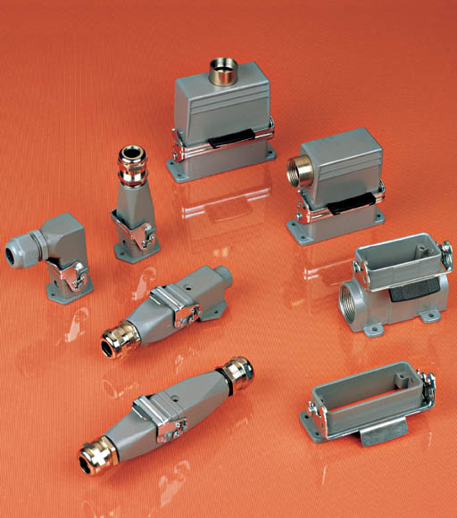 HA Series Compact Heavy Duty Connectors Inserts, Hoods and Housings